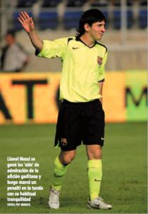 Messi en el Cádiz CF