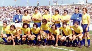 Plantilla del 1º ascenso a 1ª división en 1977