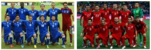 Italia y Portugal con formaciones clásicas en Mundial Brasil 2014