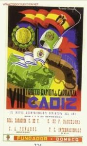 Cartel del VIII Trofeo Carranza de 1962
