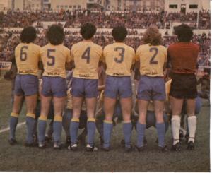 Los colores del Cádiz CF