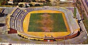 Estadio Carranza en los años setenta.