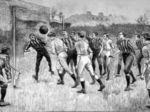 jugada de gol antigua 1890