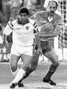 Carmelo y Maradona.