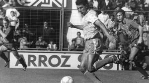 Barla, autor del gol en Santander
