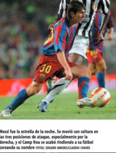 Messi encandila en el Trofeo Gamper