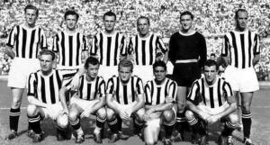 Juventus 1950, formación clásica