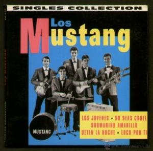 """Los Mustang, grupo español que popularizo la versión en español del """"Yellow Submarine"""" de The Beatles"""