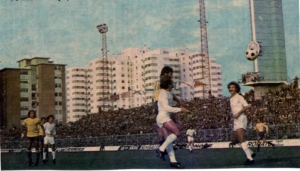 Baena se eleva y remata de cabeza el gol al Madrid, el gol que cambió al cadismo