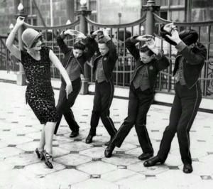 El Charleston, popular baile de los años 20