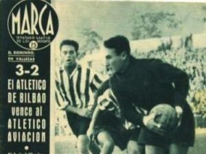 Portada de Marca de partido entre Atlético de Bilbao y Atlético Aviación