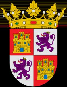 Escudo de la Corona de Castilla y actual de Castilla y León