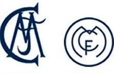 Escudo del Madrid FC en 1902 y 1908