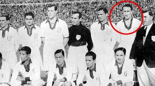El peruano Galindo, el primer expulsado en un Mundial.