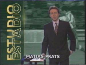 """Portada de """"Estudio Estadio""""."""