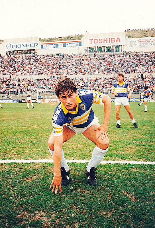 Alfonso Cortijo en la temporada 1986-87.