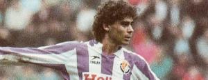Fernando Hierro en el Real Valladolid.
