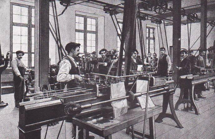 Fábrica armera de Éibar.