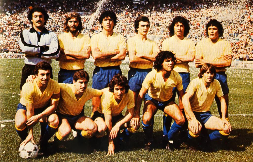 En el mítico ascenso en Elche de 1981 el Cádiz CF jugó sin escudo en las camisetas.