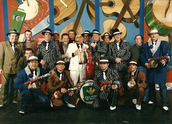 Chirigota La Familia Pepperoni, 1998