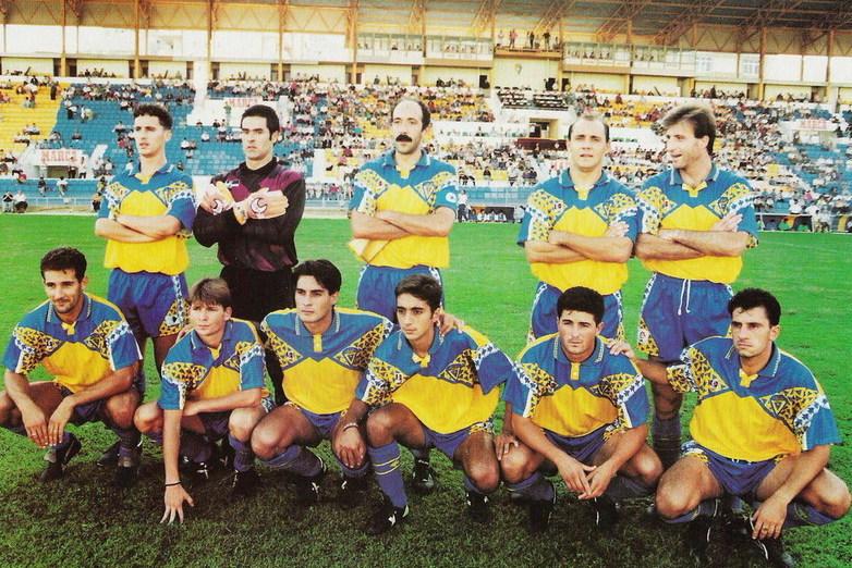 Equipo del Cádiz CF 1993/94