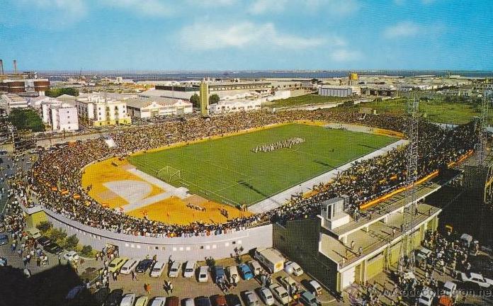 Fondo Norte y estadio de 1955.